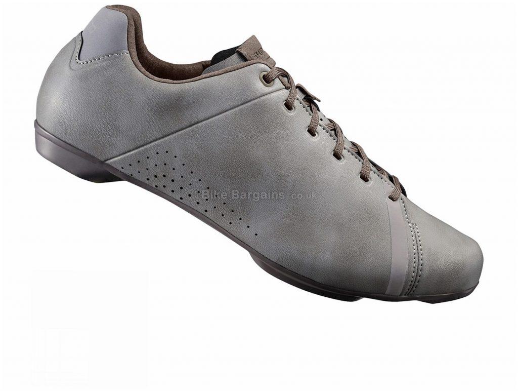 Shimano RT4 Road Shoes 42, Grey, Laces, 275g, Nylon