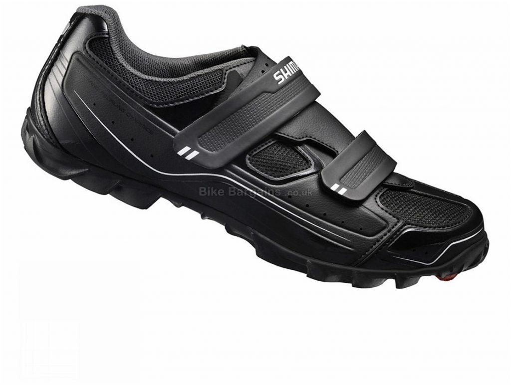 Shimano Trail Enduro Off Road MTB Shoes 42, Black, Velcro, 650g, Nylon