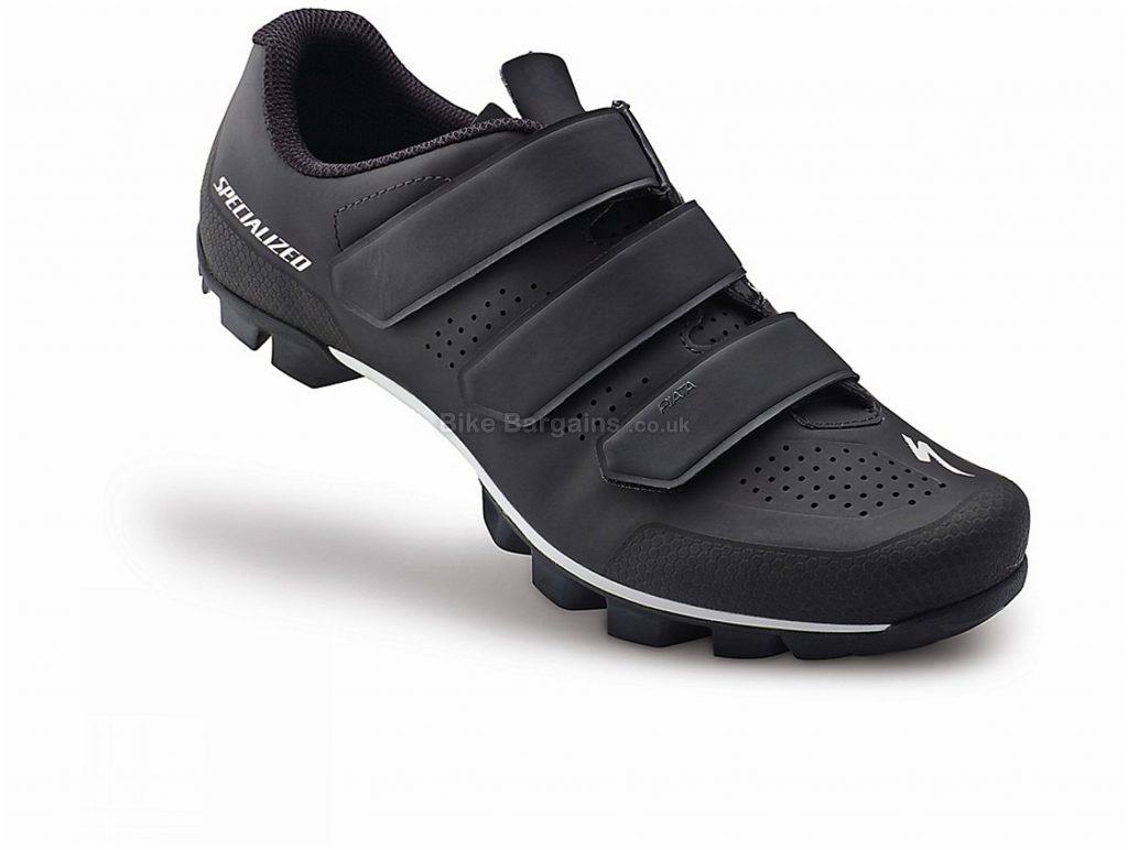 Specialized Ladies Riata MTB Shoes 38, Black, Velcro, 315g, Nylon