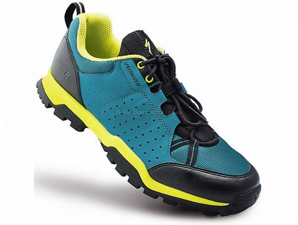 Specialized Ladies Tahoe MTB Shoes 38, Turquoise, Black, Laces, 325g, Nylon