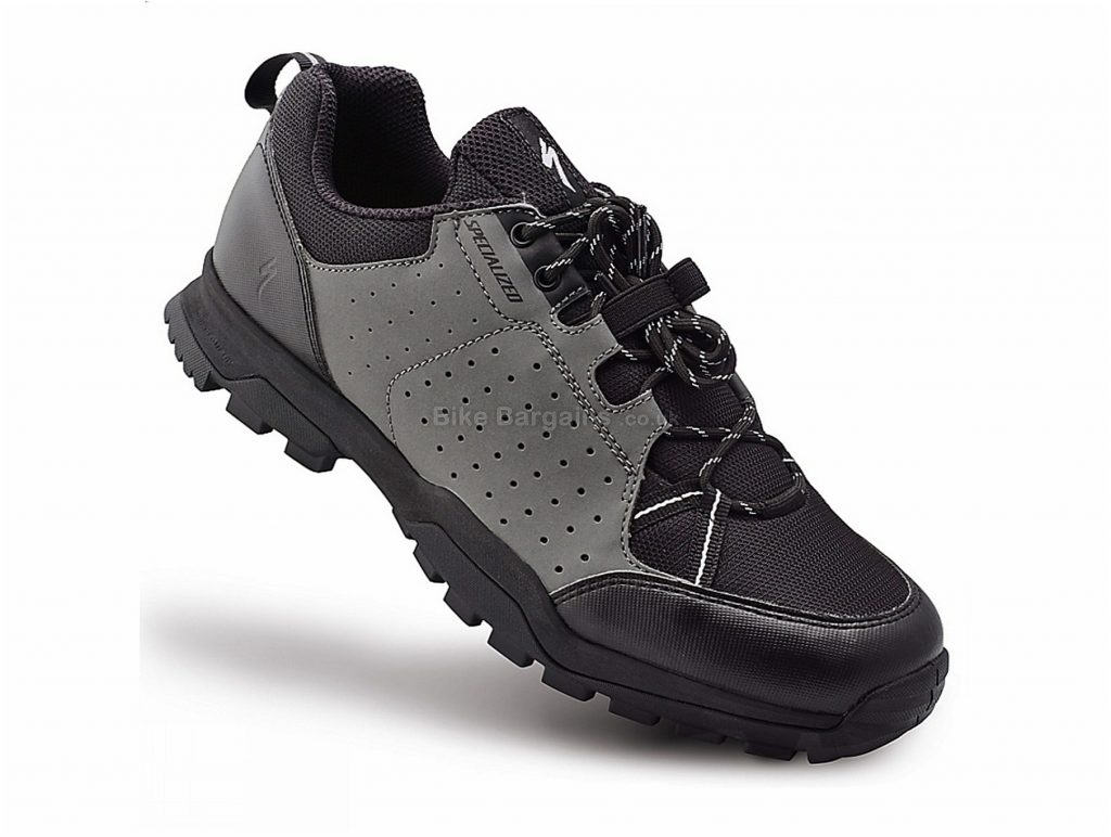 Specialized Tahoe MTB Shoes 42, Grey, Black, Laces, 350g, Nylon