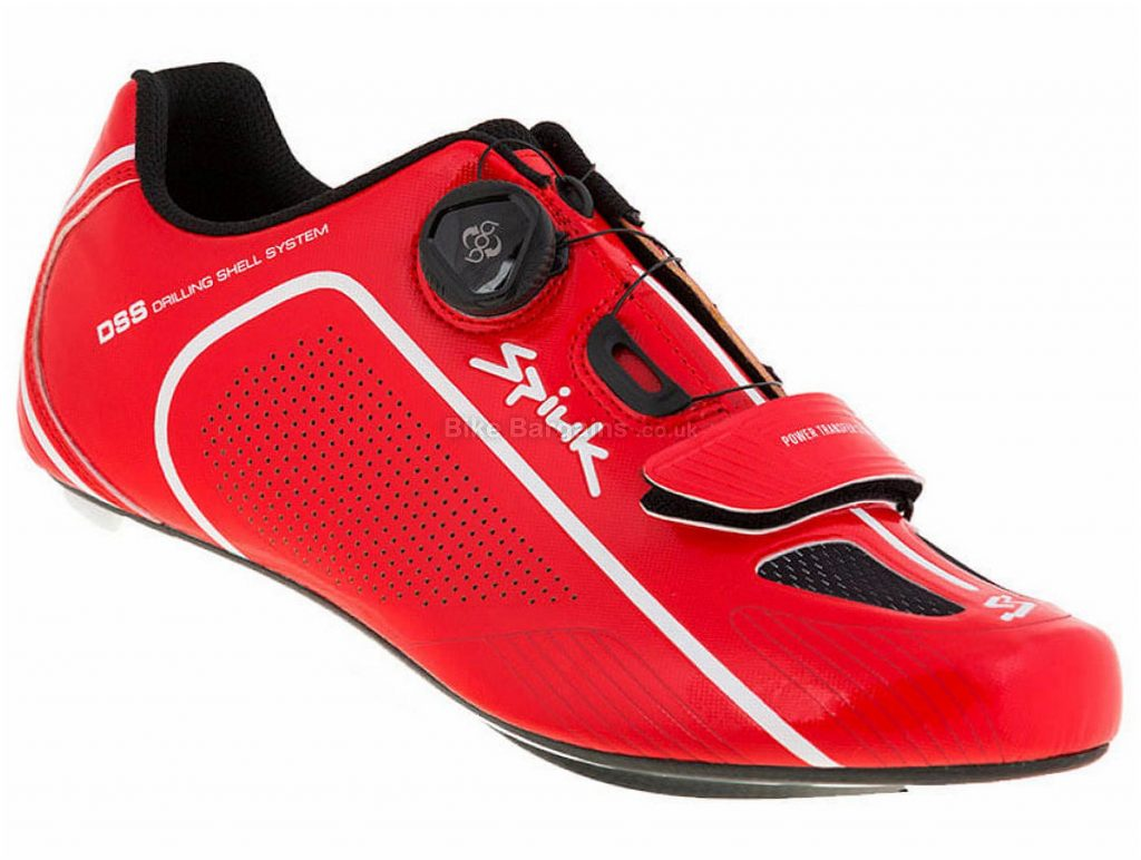Spiuk Altube-RC Carbon Road Shoes 43, Red, Black, Boa, Velcro, Carbon