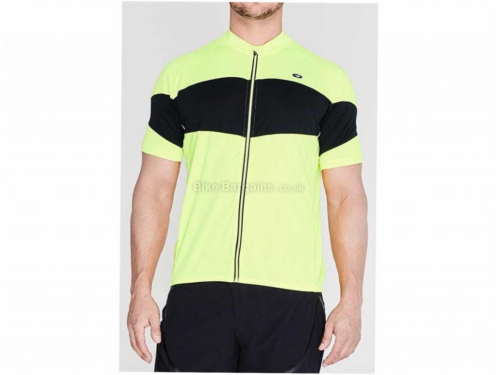 Sugoi Classic Short Sleeve Jersey L, Yellow, Red, Green