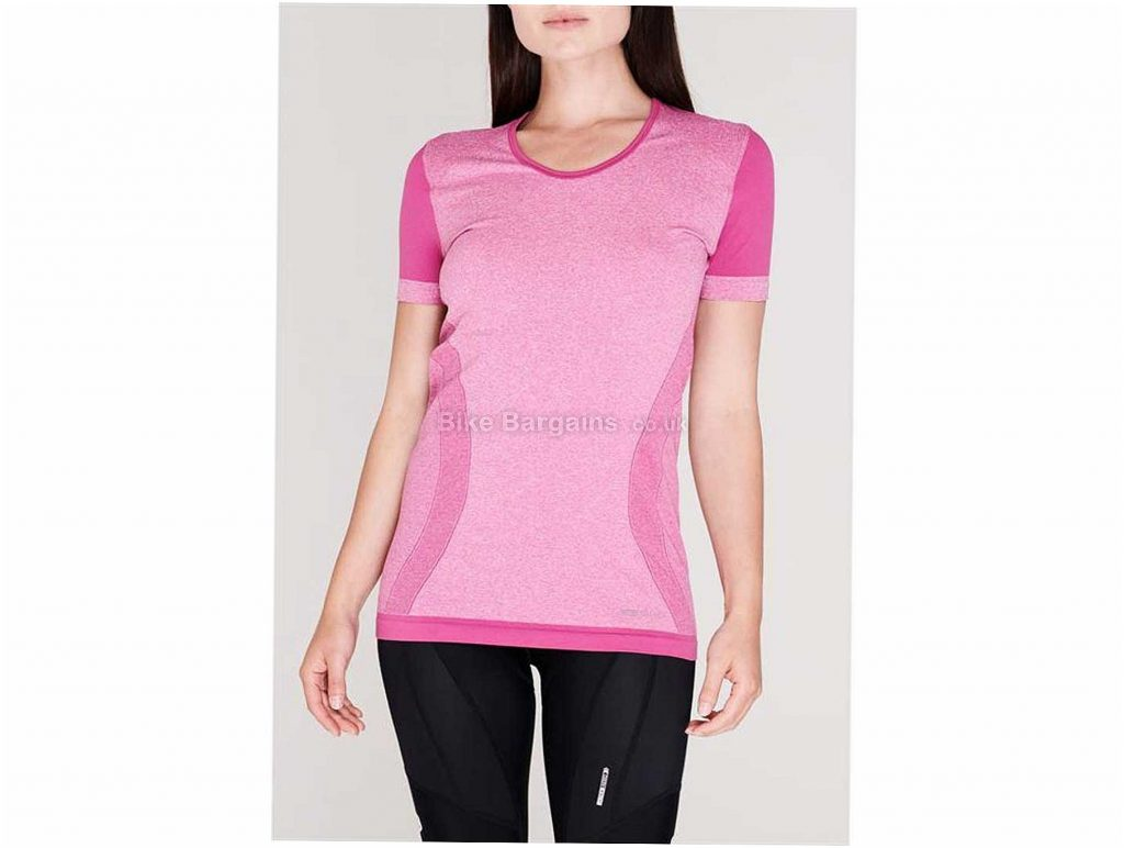 Sugoi Evolution Zap Ladies Short Sleeve Jersey S,M,L, Pink