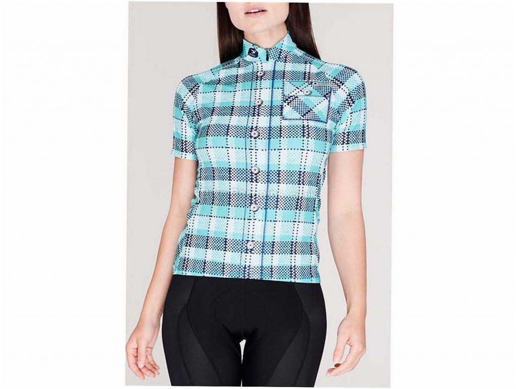 Sugoi Lumberjane Ladies Short Sleeve Jersey XS, Green