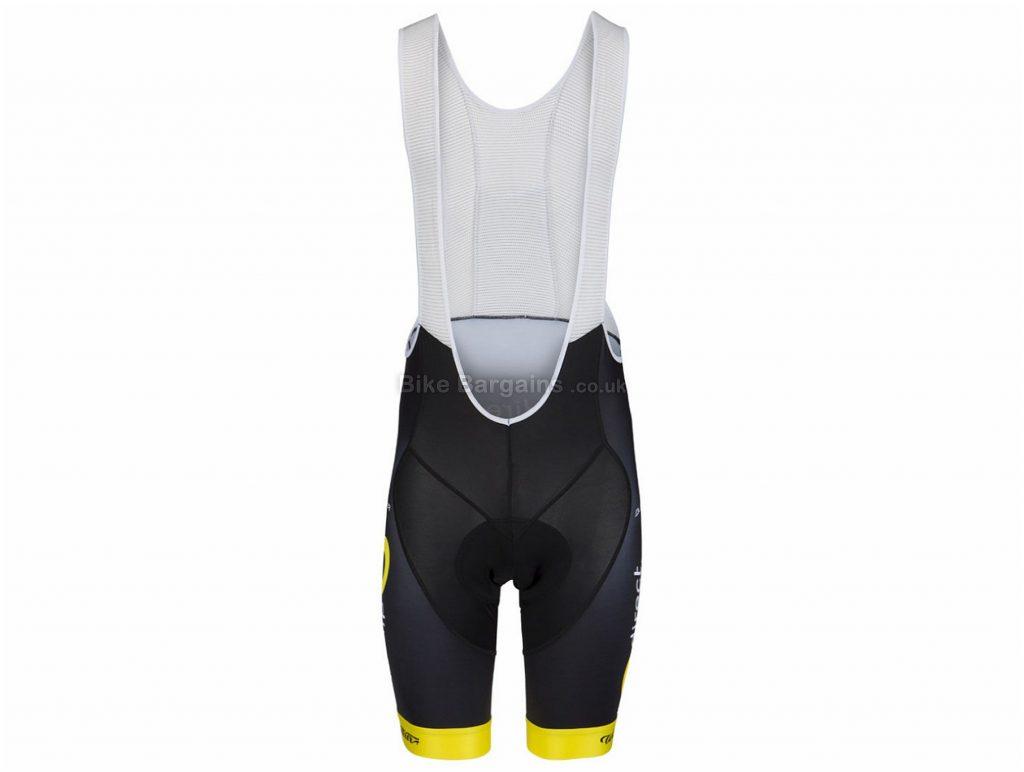 Team Direct Energie Replica Bib Shorts 2018 XXL, Black, Yellow