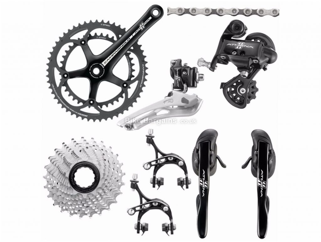 Campagnolo Athena 11 Speed Groupset 11 Speed, Double, Road