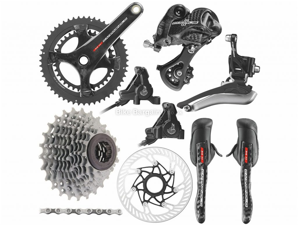 Campagnolo Chorus 11 Speed Disc Groupset 11 Speed, Double, Road