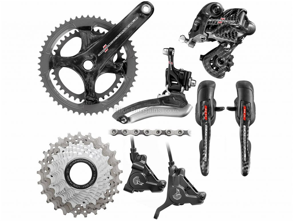 Campagnolo Record 11 Speed Disc Groupset 11 Speed, Double, Road