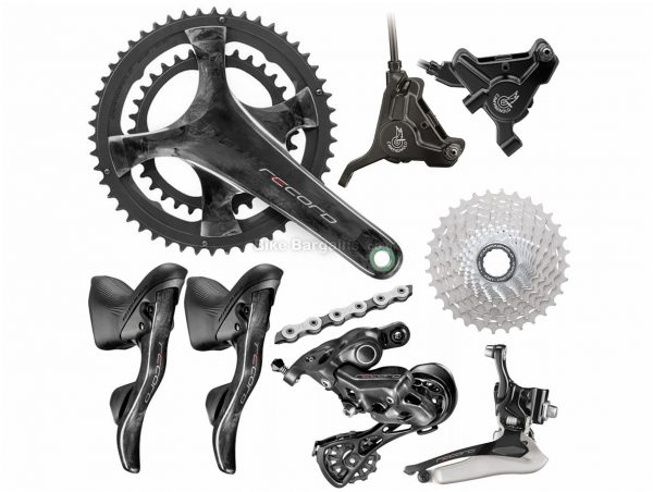 Campagnolo Record 12 Speed Disc Groupset 12 Speed, Double, Road