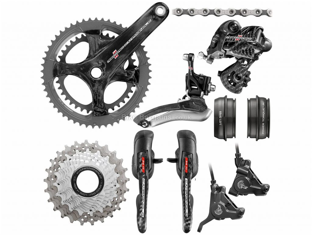 Campagnolo Super Record 11 Speed Groupset 11 Speed, Double, Road
