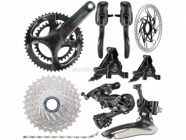 Campagnolo Super Record 12x Disc Groupset 12 Speed, Double, Road