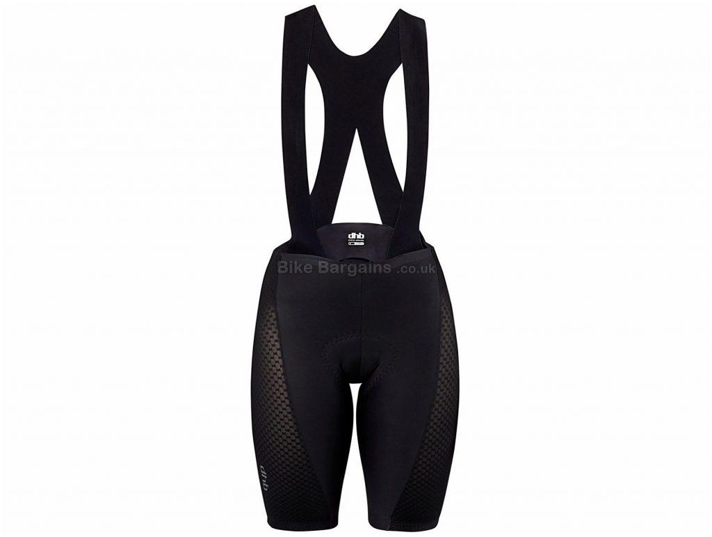 dhb Aeron Lab Raceline Ladies Bib Shorts 2018 16, Black