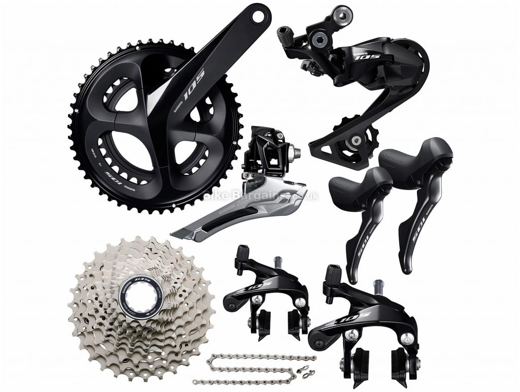 Shimano 105 R7000 11 Speed Groupset 11 Speed, Double, Road