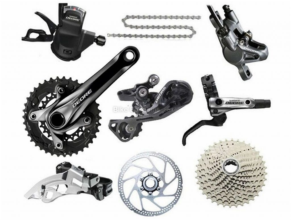 Shimano Deore M615 10 Speed Double Groupset 10 Speed, Double, MTB