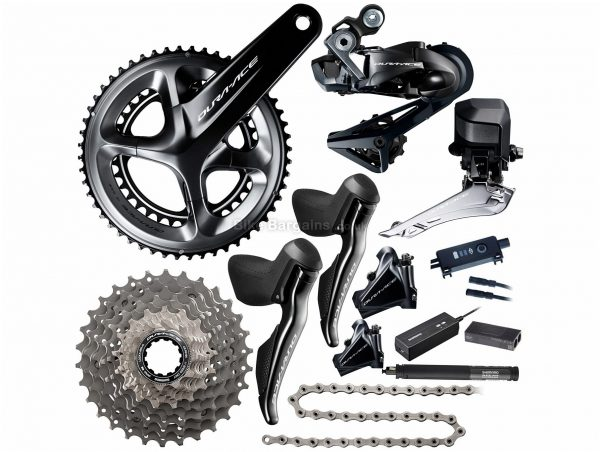 Shimano Dura Ace R9170 Di2 11 Speed Groupset 11 Speed, Double, Road