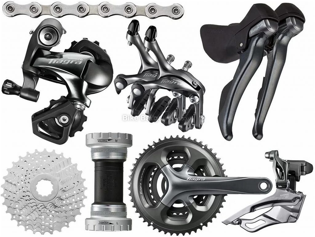 Shimano Tiagra 4703 10 Speed Triple Groupset 10 Speed, Triple, Road
