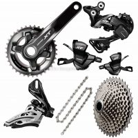 Shimano XT M8000 11 Speed Double Drivetrain Groupset