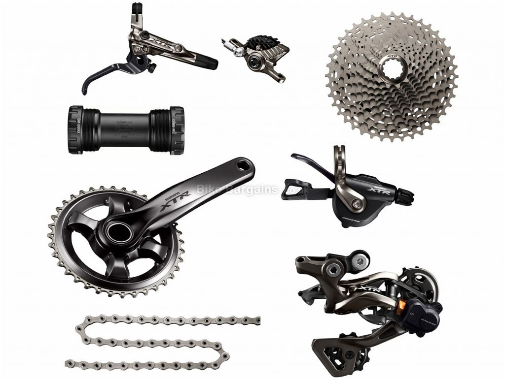 Shimano XTR M9000 11 Speed Single Drivetrain Groupset 11 Speed, Single, MTB