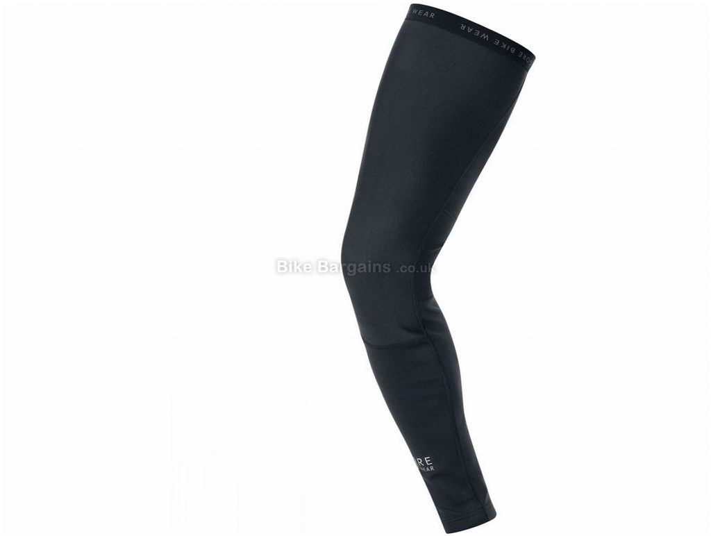 Gore Universal Softshell Leg Warmers L, Black