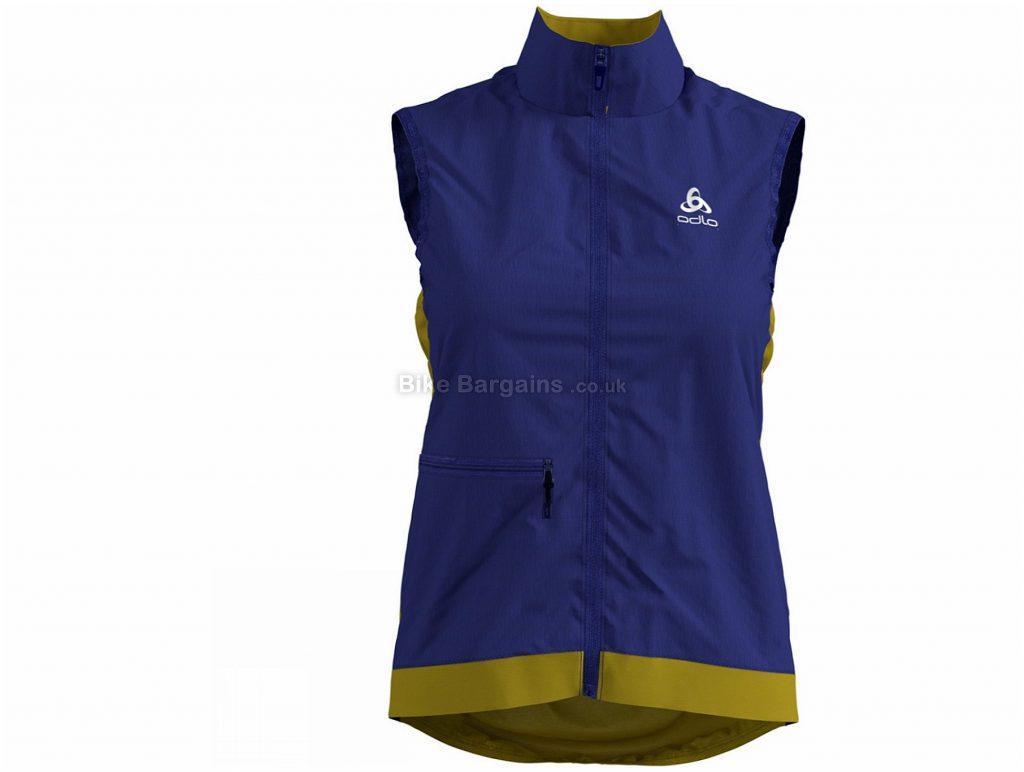 Odlo Ladies Fujin Light Gilet XL, Blue