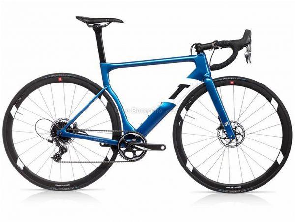 3T Strada Pro Aero Disc Carbon Road Bike 2019 S, Blue