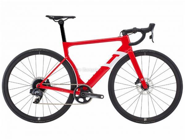 3T Strada Team Force AXS eTap Aero Disc Carbon Road Bike 2019 S,XL, Red