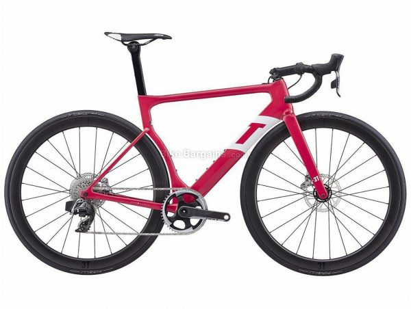 3T Strada Team Red eTap Aero Disc Carbon Road Bike 2019 S,M,L,XL, Red