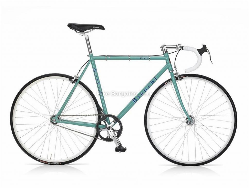 Bianchi Pista Steel Track Bike 2019 51cm, Silver, Black, Steel, Single Speed, Calipers, Men's