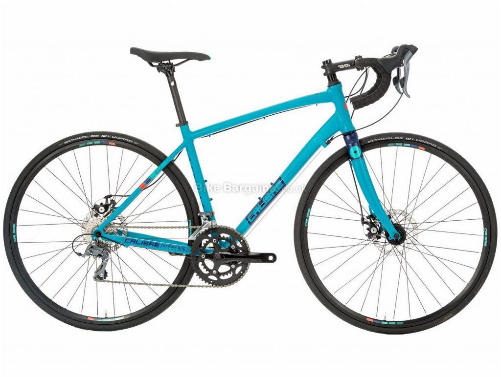 Calibre Lost Lass Ladies Disc Alloy Road Bike 2019 S, M, L, Turquoise, Alloy, 8 Speed, Disc Brakes, 12.4kg, Ladies