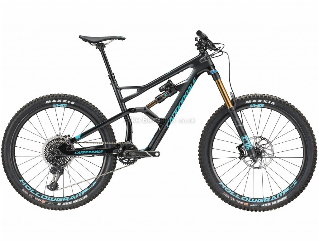 """Cannondale Jekyll 1 27.5"""" Carbon Full Suspension Mountain Bike 2018 M, Black, 27.5"""", Carbon, 12 Speed, Full Suspension"""