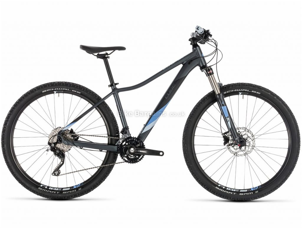 "Cube Access WS Race Ladies 27.5"" Alloy Hardtail Mountain Bike 2019 13"", 16"", Blue, 27.5"", Alloy, 30 Speed, Hardtail, 13.4kg"