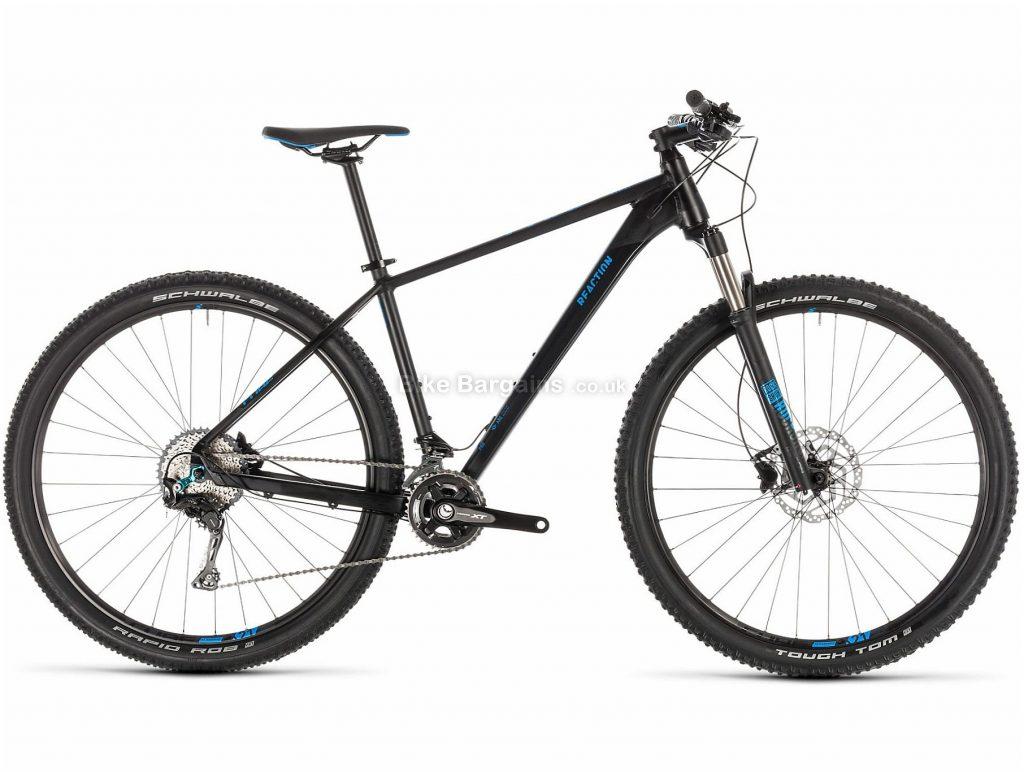"Cube Reaction Pro 27.5"" Alloy Hardtail Mountain Bike 2019 18"", Black, 27.5"", Alloy, 11 Speed, Hardtail"