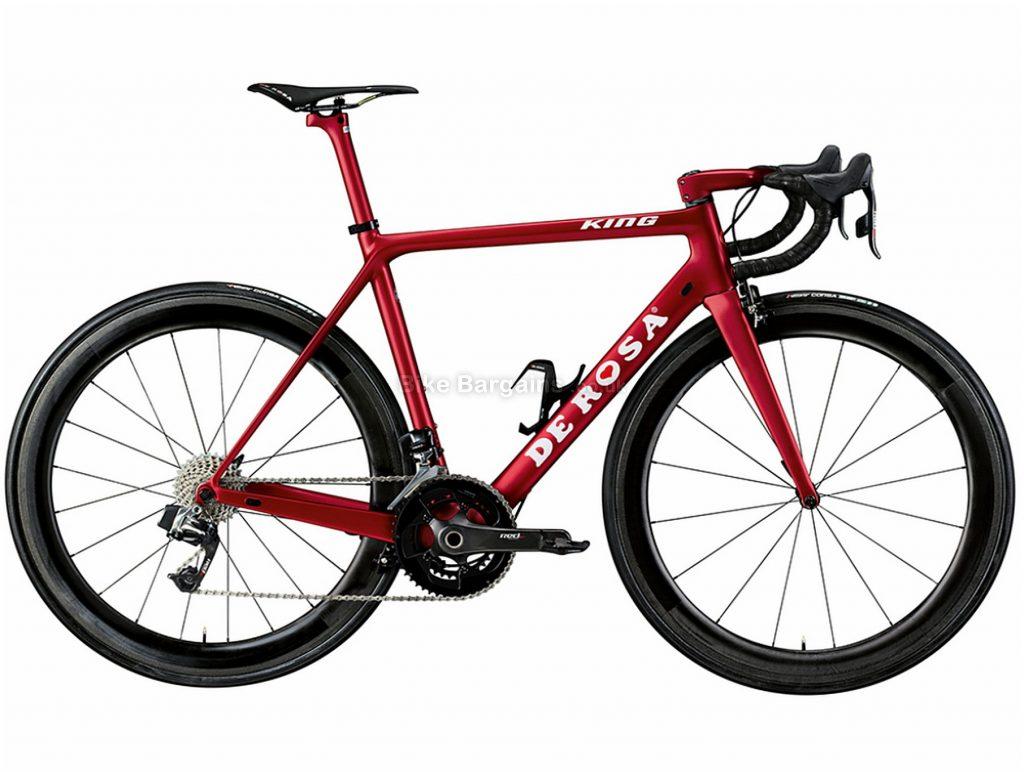 De Rosa King Ultegra Di2 Carbon Road Bike 2019 55cm, Red