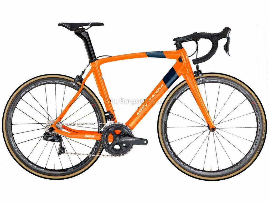 Eddy Merckx EM525 Performance Ultegra Carbon Road Bike 2019 M, Orange