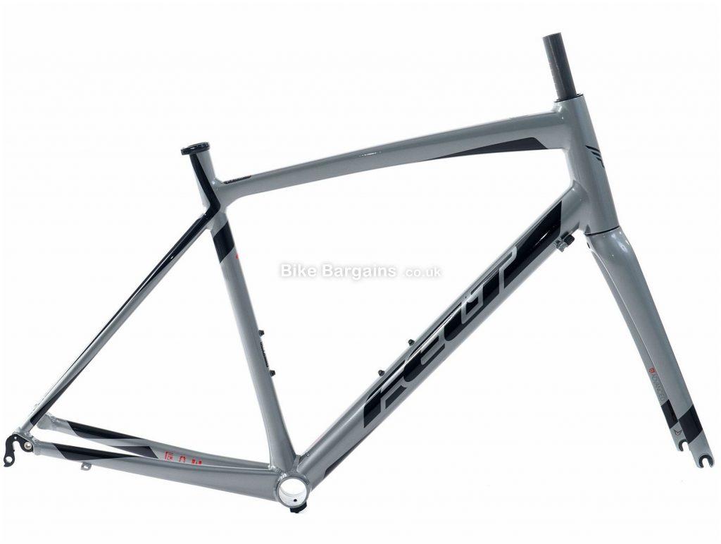 Felt ZA Caliper Alloy Road Frame 2016 56cm, Grey, Red, Alloy, Caliper Brakes, 700c, 2.1kg
