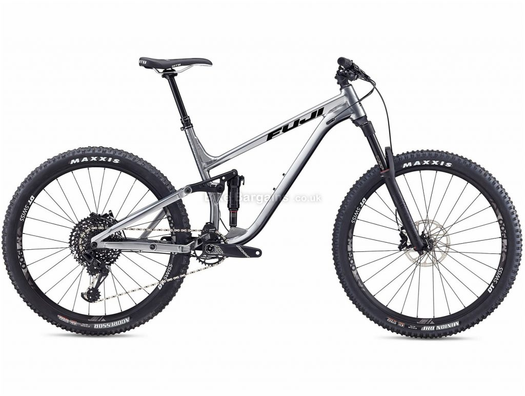 "Fuji Auric 1.1 27.5"" Alloy Full Suspension Mountain Bike 2019 17"", Silver, 27.5"", Alloy, 12 Speed, Full Suspension, 13.57kg"