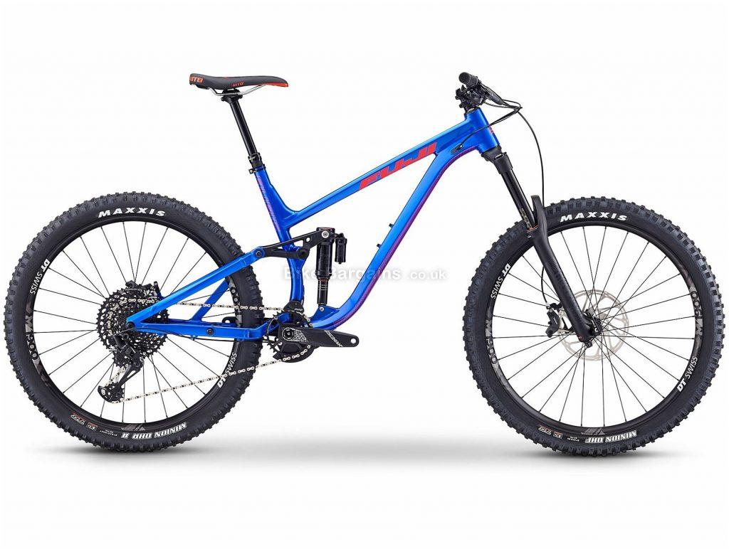 "Fuji Auric LT 1.1 27.5"" Alloy Full Suspension Mountain Bike 2019 19"", Blue, 27.5"", Alloy, 12 Speed, Full Suspension"