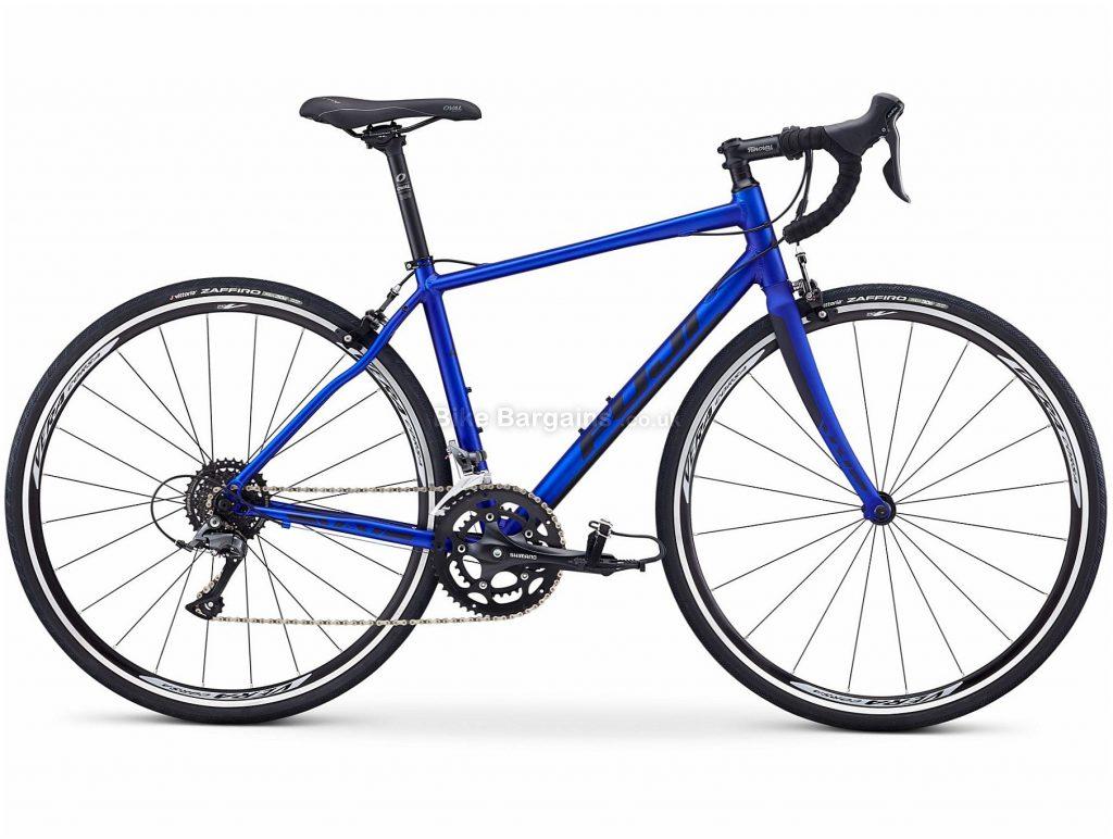 Fuji Finest 2.3 Ladies Alloy Road Bike 2019 47cm, Blue, Alloy, 8 Speed, Calipers, 10.17kg, Ladies