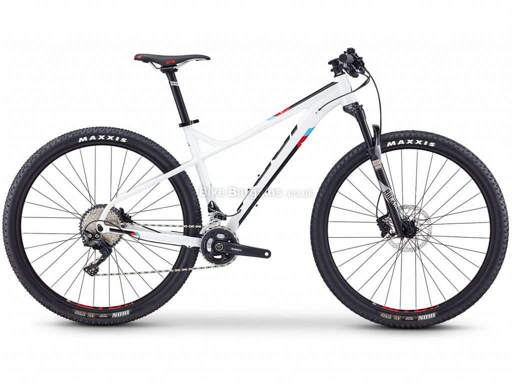 """Fuji Tahoe 1.3 29"""" Alloy Hardtail Mountain Bike 2019 17"""", White, 29"""", Alloy, 22 Speed, Hardtail"""