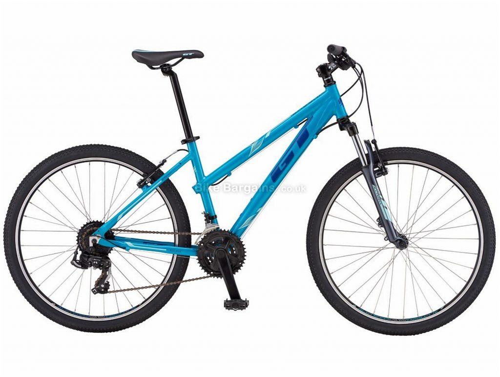 "GT Laguna Ladies 26"" Alloy Hardtail Mountain Bike 2019 S, Blue, 26"", Alloy, 21 Speed, Hardtail"