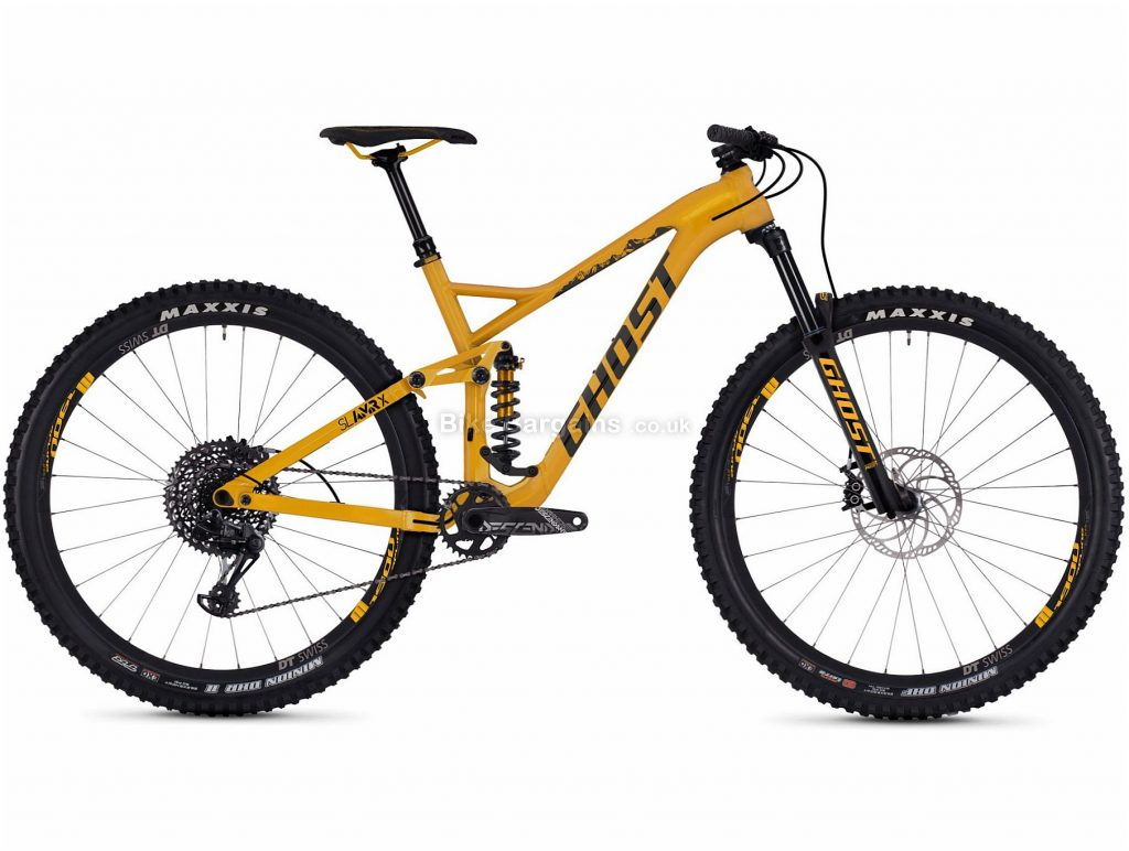 """Ghost SL AMR X5.9 29"""" Alloy Full Suspension Mountain Bike 2019 XL, Yellow, 29"""", Alloy, 12 Speed, Full Suspension"""