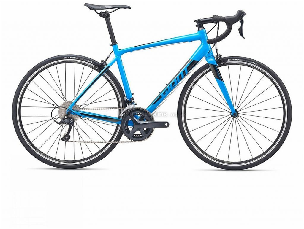Giant Contend 1 Alloy Road Bike 2019 M, L, Blue, Alloy, 9 Speed, Calipers, Men's