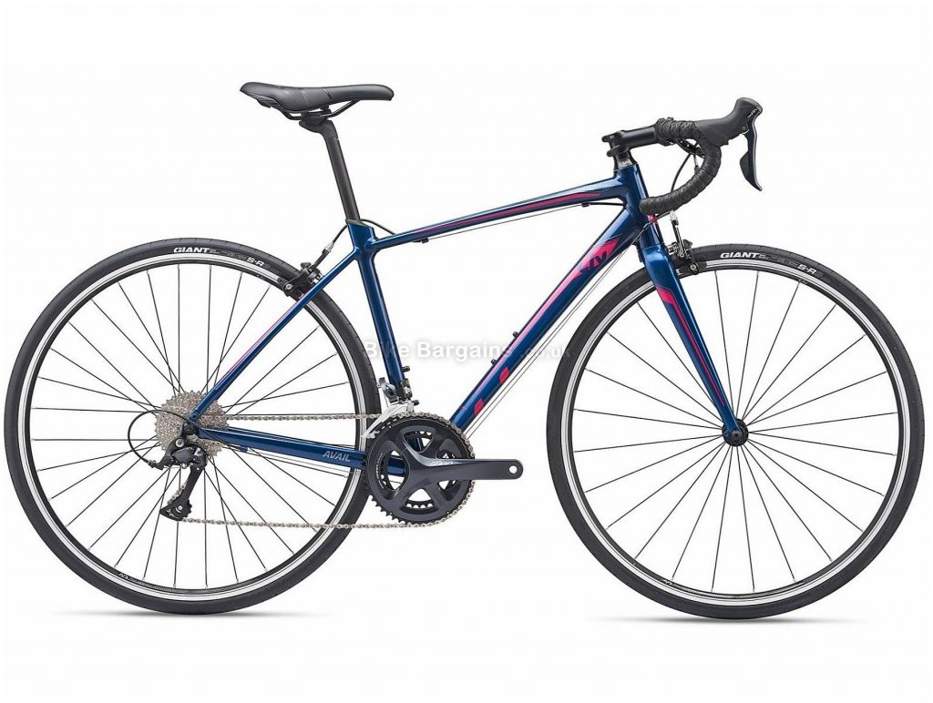 Giant Liv Avail 1 Ladies Alloy Road Bike 2019 M, Blue, Alloy, 9 Speed, Calipers, Ladies