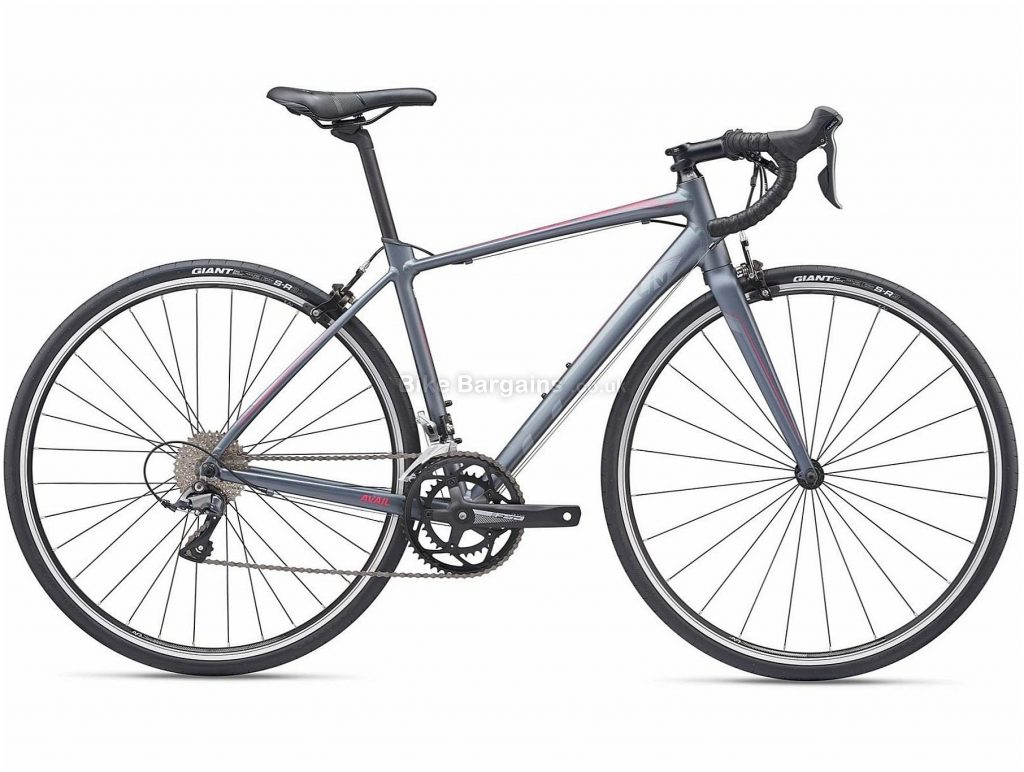 Giant Liv Avail 2 Ladies Alloy Road Bike 2019 S, Grey, Alloy, 8 Speed, Calipers, Ladies