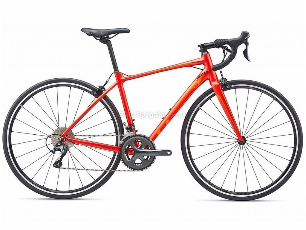 Giant Liv Avail SL 2 Ladies Alloy Road Bike 2019 XS, S, Red, Alloy, 11 Speed, Calipers, Ladies