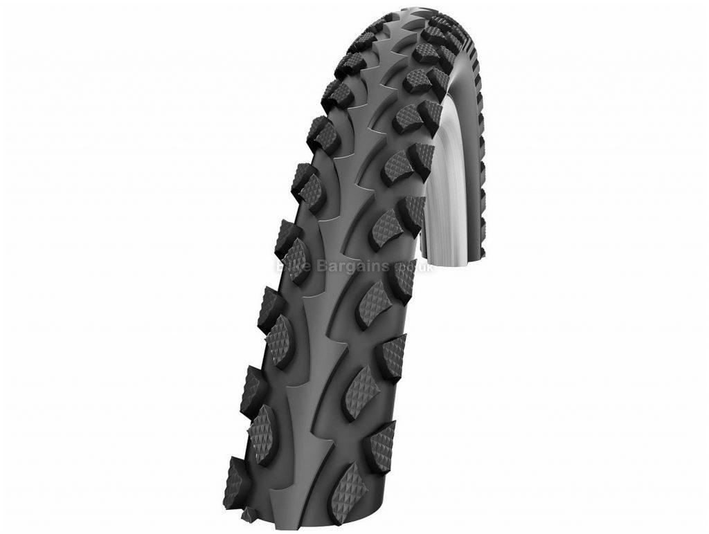 "Impac Tourpac City Wire 26"" MTB Tyre 700c, 45c, Black, Wire, MTB, 1.05kg"