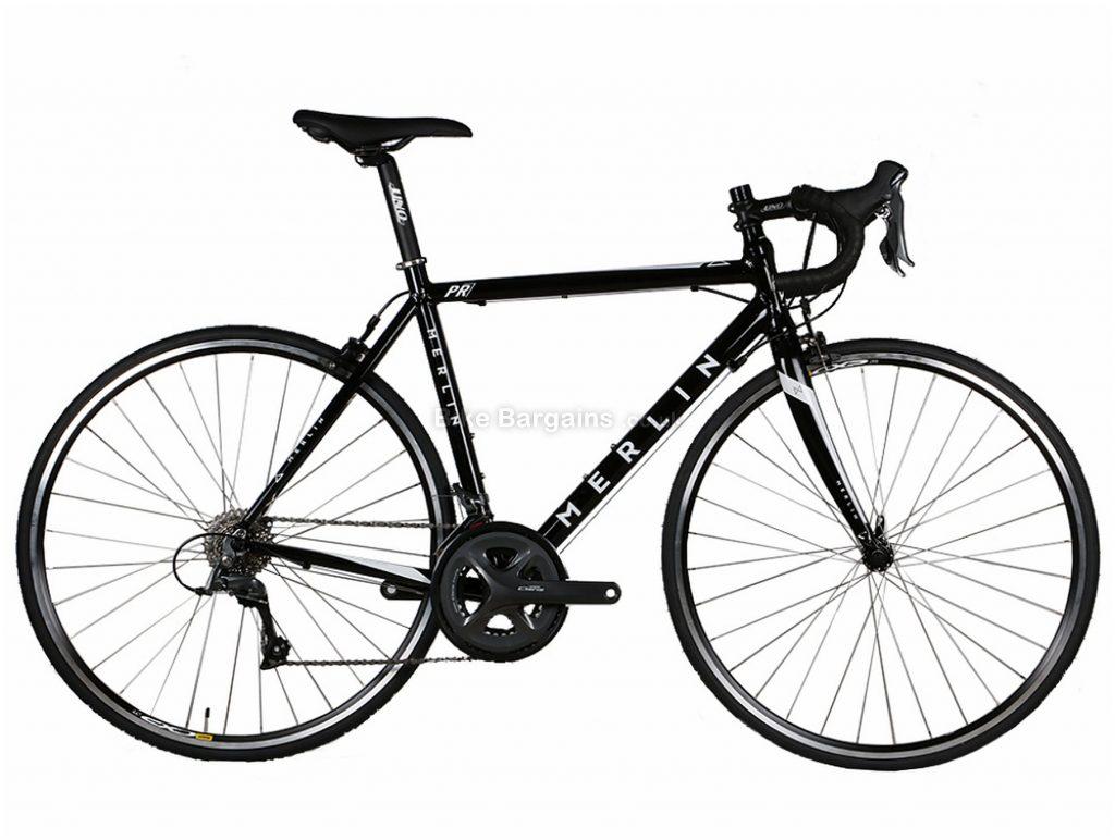 Merlin PR7 Claris Alloy Road Bike 2019 56cm, Black