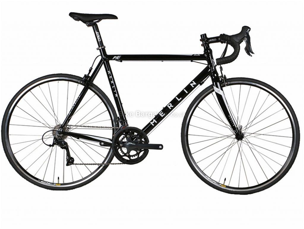 Merlin PR7 Sora Alloy Road Bike 2019 53cm, Black