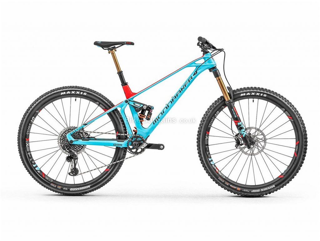 "Mondraker Foxy XR X01 Eagle Enduro 29"" Carbon Full Suspension Mountain Bike 2019 M, Blue, Red, 29"", Carbon, 12 Speed, Full Suspension"